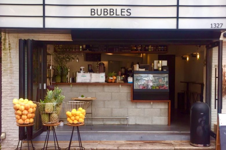 juice stand BUBBLES 外観