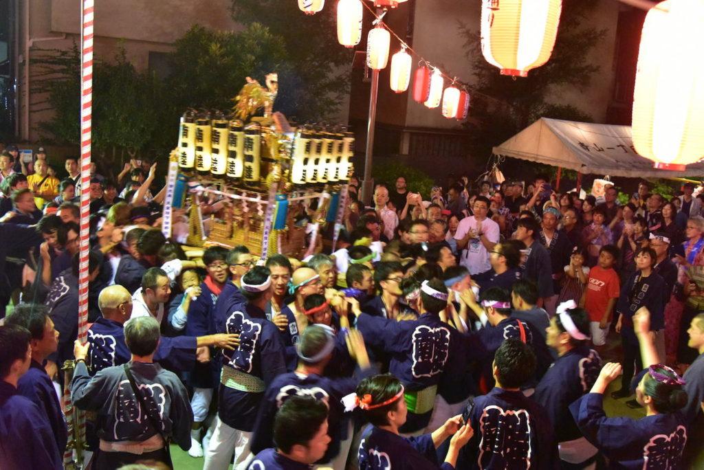 熊野神社例大祭 神輿