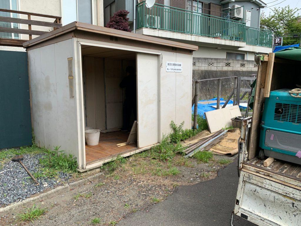 旧防災倉庫
